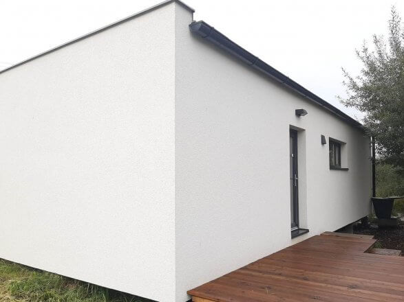 Decentrální rekuperační jednotka SEVi 160 pro rodinný dům Easy Homes Solution
